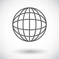 Simple World globe 2