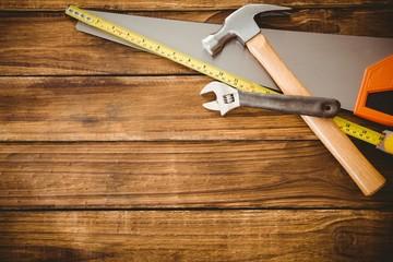 Overhead of tools on table