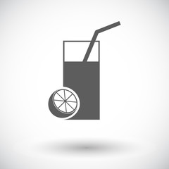 Fruit juice icon.