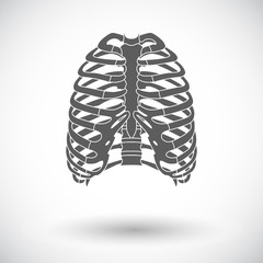 Icon of human thorax.