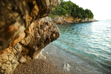 beach and sea in Dubrovnik