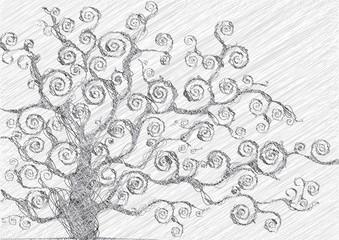 albero disegnato