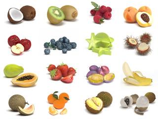 Obst - Sammlung