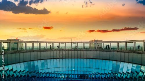 Foto op Plexiglas Japan Float garden at Umeda Sky Building in Osaka