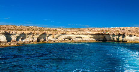 sea caves made by nature