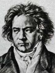 Ludwig van Beethoven, German composer and pianist