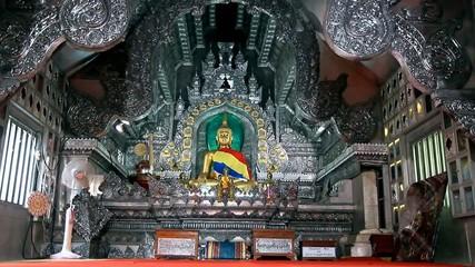 Silver monastery Wat Srisuphan, Chiang Mai