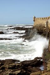 Castillo de San Sebastián. Cádiz, España