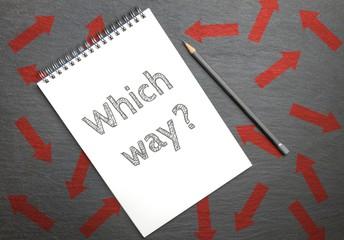 Which way? Konzept