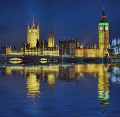 House of Parlaments  London beleuchtet