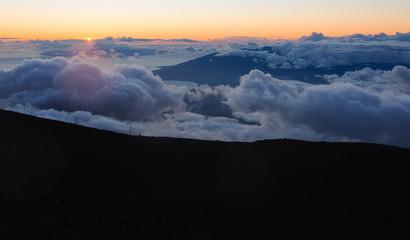 Maui Clouds at Summit