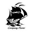 Sail boat logo icon - 80320426