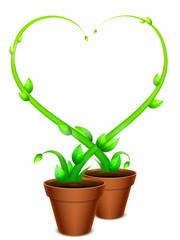 Green Heart Frame