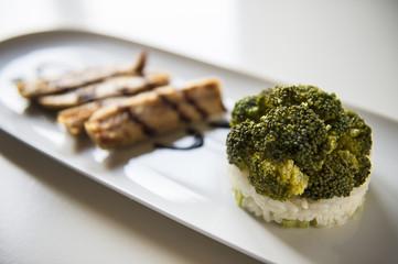 Broccoli e sgombro