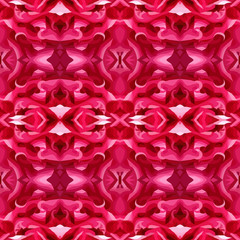 Vector illustration of a red pattern