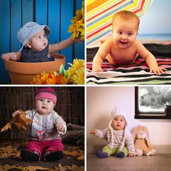 Four seasons baby calendar