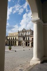 Plaza Vieja in Old Havana - Cuba