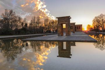 Temple of Debod, Madrid (Spain)