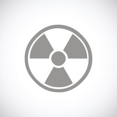 Nuclear black icon