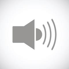 Speaker black icon
