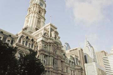 Philadelphia City Hall & Spires of Liberty Place