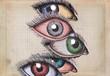 colorfuls eyes - 80324859