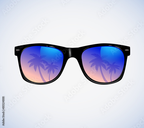 Sunglasses vector illustration Perfect Templates For Your Design - 80324888