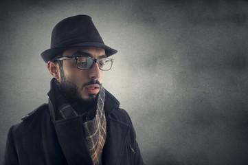 investigator, Man resembling a detective