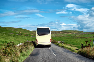Irlanda in autobus