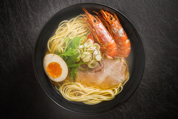 エビラーメン ramen Noodle of the prawns salt