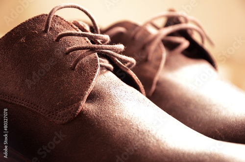 Beautiful man shoes. Classic design
