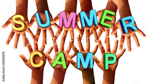 Summer Camp Kids - 80328078