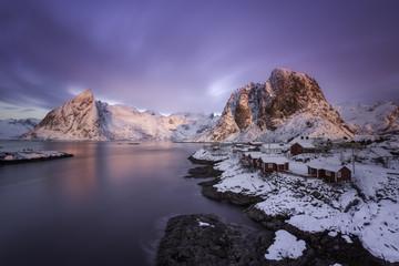 Sunrise over Norway
