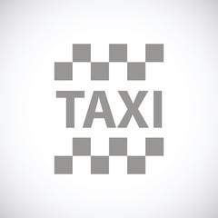Taxi black icon