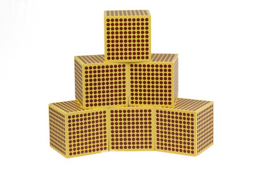 Golden Beads 1000 cube