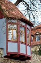 Stadtmauer von Grimma in Sachsen