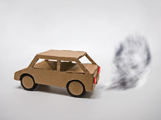 Abgase eines Kraftfahrzeugs