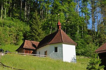 Kapelle und Zelle des Niklaus von Flüe im Flüeli-Ranft