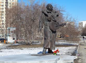 Памятник Владимиру Мулявину. Екатеринбург