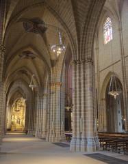 cathedral de santa maria la real in pamplona