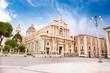 Piazza del Duomo in Catania , Sicily - 80332273