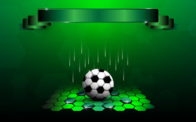 football line up review abstract design background