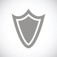 Shield black icon