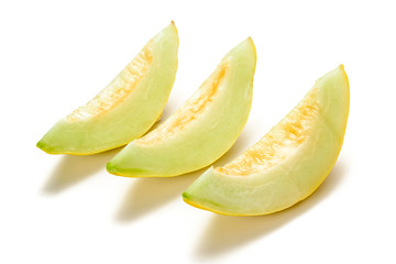 yellow melon slices