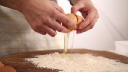 Biscotti in preparazione