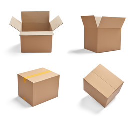 box package delivery cardboard carton