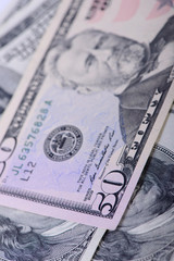 fifty dollars banknotes