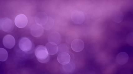 Abstract purple color light bokeh