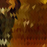 Auburn Abstract Low Polygon Background poster