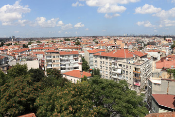 Skyline of Istanbul